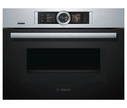 BOSCH CNG6764S6B Built-in Smart Combination Microwave - Stainless Steel Best Price, Cheapest Prices