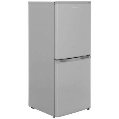 Lec TF55142S 50/50 Frost Free Fridge Freezer - Silver - A+ Rated Best Price, Cheapest Prices