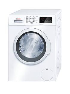 Bosch Serie 4 WAN28201GB 8kg Load, 1400 Spin Washing Machine with EcoSilence Drive™ - White Best Price, Cheapest Prices