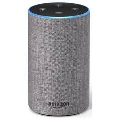 All-new Amazon Echo (2nd generation) - Heather Grey Fabric Best Price, Cheapest Prices