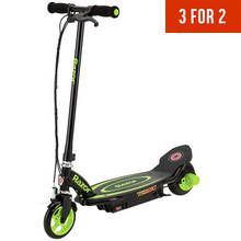 Razor Power Core E90 Electric Scooter - Green Best Price, Cheapest Prices