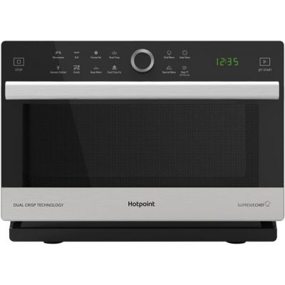 Hotpoint SUPREMECHEF MWH338SX 33 Litre Combination Microwave Oven - Stainless Steel Best Price, Cheapest Prices