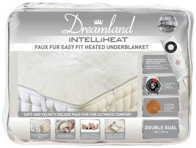 Dreamland Intelliheat Electric Dual Underblanket - Double Best Price, Cheapest Prices