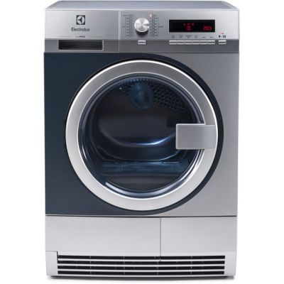 Electrolux myPro TE1120 8Kg Semi Commercial Condenser Tumble Dryer - Stainless Steel - B Rated Best Price, Cheapest Prices