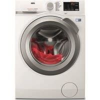 AEG L6FBI842N 8kg 1400rpm Freestanding Washing Machine - White Best Price, Cheapest Prices