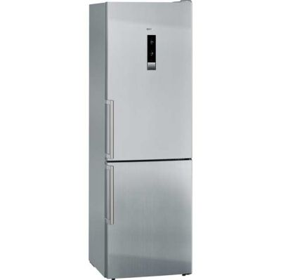 Siemens IQ-500 KG36NHI32 Wifi Connected 60/40 Frost Free Fridge Freezer - Stainless Steel Effect - A++ Rated Best Price, Cheapest Prices