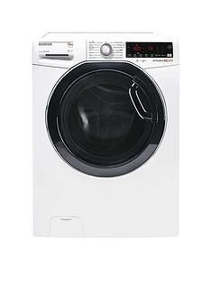 Hoover Dwoa413Hlc3G-80 13Kg Load, 1400 Spin Washing Machine - Graphite/Tinted Door Best Price, Cheapest Prices