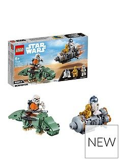 LEGO Star Wars 75228 Escape Pod vs. Dewback Microfighters™ Best Price, Cheapest Prices