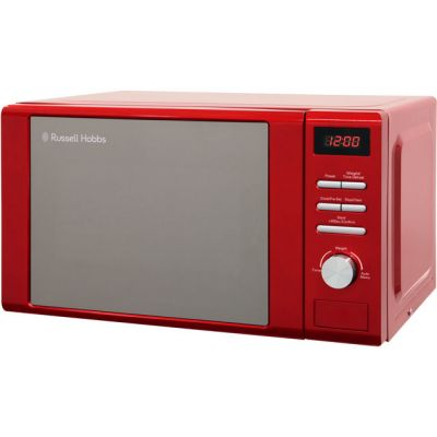 Russell Hobbs Heritage RHM2064R 20 Litre Microwave - Red Best Price, Cheapest Prices