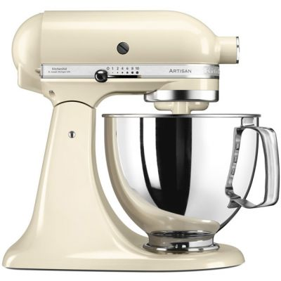 KitchenAid Artisan 5KSM175PSBAC Stand Mixer with 4.8 Litre Bowl - Almond Cream Best Price, Cheapest Prices