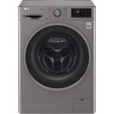 LG Steam™ F4J6VY8S 9Kg Washing Machine with 1400 rpm - Graphite - A+++ Rated Best Price, Cheapest Prices