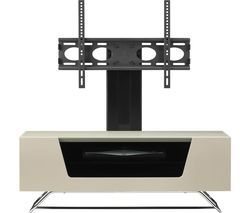 ALPHASON Chromium 2 Cantilever CRO2-1000BKT-IV 1000 mm TV Stand with Bracket - Ivory Best Price, Cheapest Prices