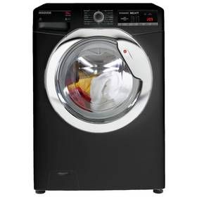 Hoover DXOA 610HCB 10KG 1600 Spin Washing Machine - Black Best Price, Cheapest Prices