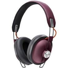 Panasonic RP-HTX80BE Wireless Over-Ear Headphones - Burgundy Best Price, Cheapest Prices