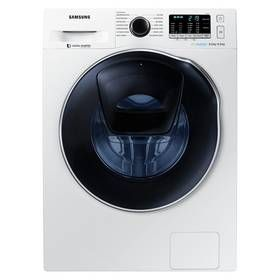 Samsung WD80K5B10OW 8KG 1400 Spin Washing Machine - White Best Price, Cheapest Prices