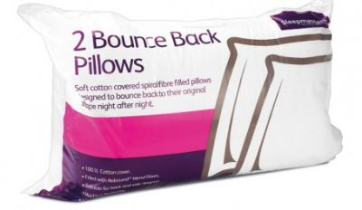 Bounce Back Spiralfibre Pillow Best Price, Cheapest Prices