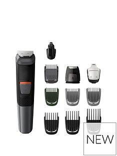 Philips Philips Series 5000 11-in-1 Multi Grooming Kit for Beard, Hair and Body with Nose Trimmer Attachment - MG5730/33 Best Price, Cheapest Prices