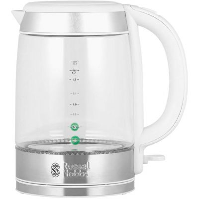 Russell Hobbs Illuminating Glass 21601-10 Kettle - Glass Best Price, Cheapest Prices