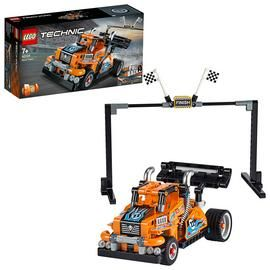 LEGO Technic Race Truck Toy 2-in-1 Pull-Back Motor Set-42104 Best Price, Cheapest Prices