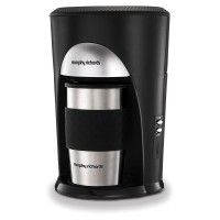 Morphy Richards 162740 On the Go Coffee Machine with Automatic Shut Off in Stainless Steel