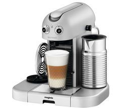 NESPRESSO 11335 Nespresso GranMaestria Coffee Machine & Aeroccino - Silver Best Price, Cheapest Prices