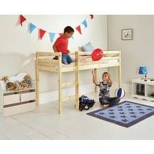 Argos Home Kaycie Pine Mid Sleeper Single Bed Frame Best Price, Cheapest Prices