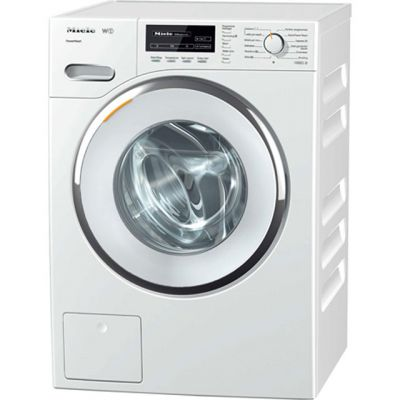 Miele W1 WhiteEdition WMB120 8Kg Washing Machine with 1600 rpm - White - A+++ Rated Best Price, Cheapest Prices