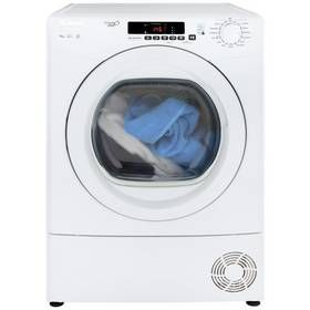 Candy GVS C9DG 9KG Condenser Tumble Dryer- White Best Price, Cheapest Prices