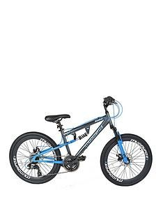 Muddyfox Idaho Dual Suspension Boys Mountain Bike 24 Inch Wheel Best Price, Cheapest Prices