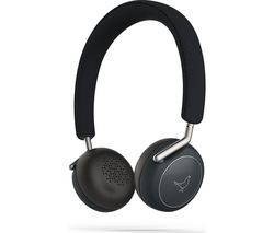 LIBRATONE Q Adapt Wireless Noise-Cancelling Headphones - Stormy Black Best Price, Cheapest Prices