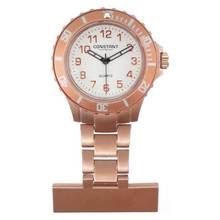 Constant Nurses' Rose Coloured Fob Sports Style Watch Best Price, Cheapest Prices
