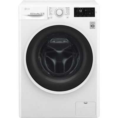 LG F4J608WN 8Kg Washing Machine with 1400 rpm - White - A+++ Rated Best Price, Cheapest Prices