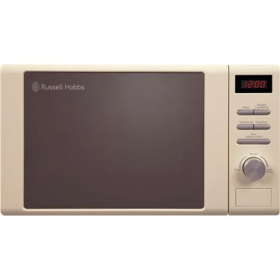 Russell Hobbs Heritage RHM2064C 20 Litre Microwave - Cream Best Price, Cheapest Prices