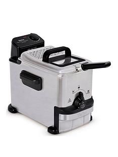 Tefal Oleoclean Compact FR701640 2l Semi-professional Fryer - Stainless Steel Best Price, Cheapest Prices