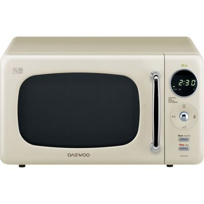 Daewoo KOR9LBKCR 20 Litre Microwave - Cream Best Price, Cheapest Prices