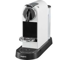 NESPRESSO by Magimix CitiZ Coffee Machine - White Best Price, Cheapest Prices