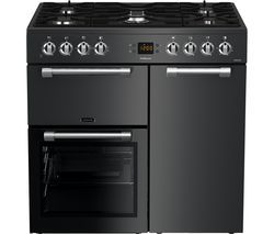 LEISURE CK90F530T 90 cm Dual Fuel Range Cooker - Anthracite Best Price, Cheapest Prices