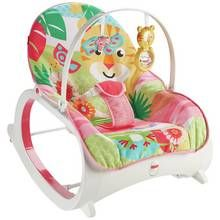 Fisher Price Infant Toddler Rocker - Pink Best Price, Cheapest Prices