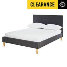 Argos Home Brianna Kingsize Bed Frame - Charcoal