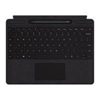 Microsoft Surface Pro X Signature Type Cover with Slim Pen Bundle Black Mechanical Keys/Clickpad, Function/Media Keys Best Price, Cheapest Prices