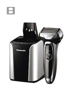 Panasonic Es-Lv95 5 Blade Cordless Wet And Dry Shaver With Self Cleaning And Charging System Best Price, Cheapest Prices