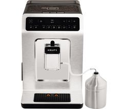 KRUPS Evidence EA893C40 Smart Bean to Cup Coffee Machine - Chrome Best Price, Cheapest Prices