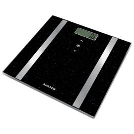 Salter Glitter Body Analyser Scale - Black Best Price, Cheapest Prices