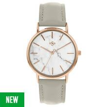 Spirit Ladies' Marble Effect Dial Rose Gold Tone Watch Best Price, Cheapest Prices