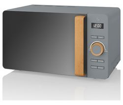 SWAN Nordic SM22036GRYN Solo Microwave - Grey Best Price, Cheapest Prices