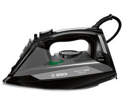 BOSCH Sensixx's DA30 Power III TDA3020GB Steam Iron - Black Best Price, Cheapest Prices