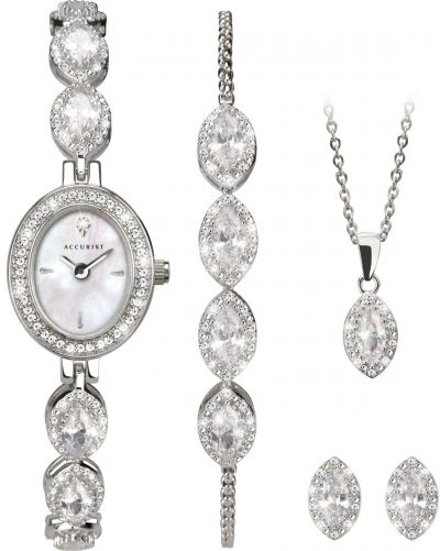 Accurist Watch and Jewellery 5 Piece Gift Set Best Price, Cheapest Prices