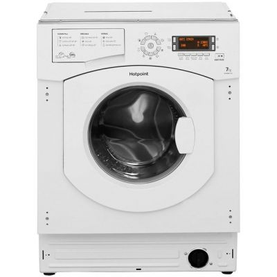 Hotpoint Ultima BHWMD732 Integrated 7Kg Washing Machine with 1300 rpm - A++ Rated Best Price, Cheapest Prices