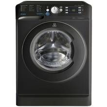 Indesit BWE91484X 9KG 1400 Spin Washing Machine - Black Best Price, Cheapest Prices