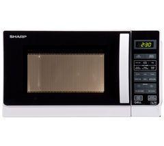 SHARP R662WM Microwave with Grill - White Best Price, Cheapest Prices
